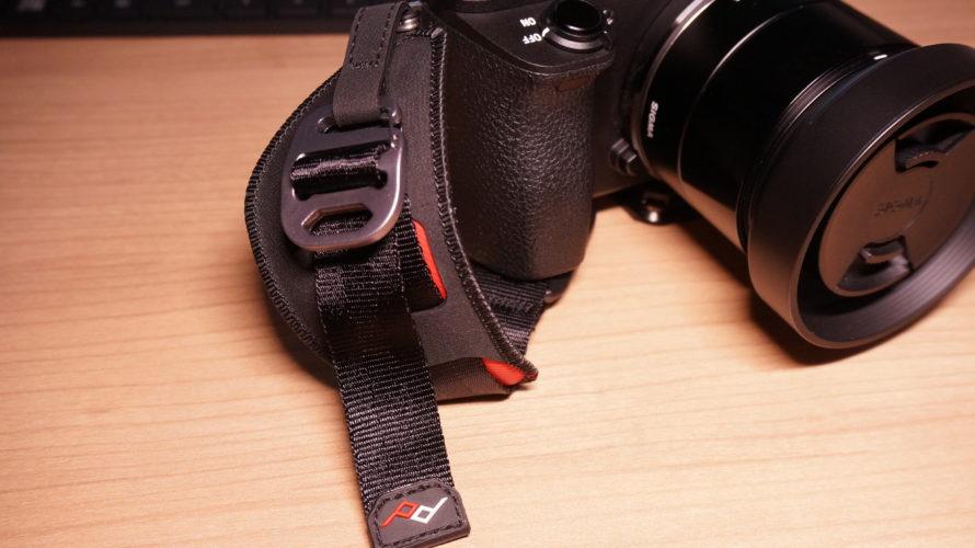 PeakDesignのカメラ用ハンドストラップ レビュー α6500に使ってみた感想