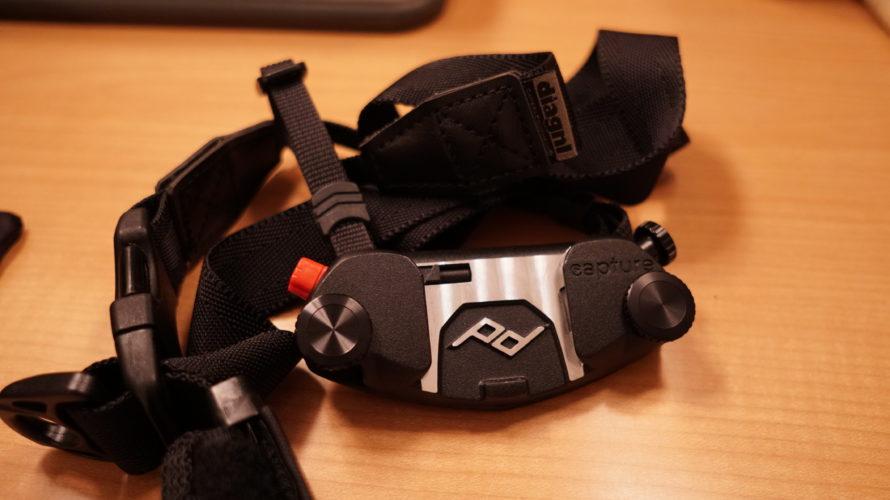 PeakDesign(ピークデザイン)のキャプチャーとニンジャストラップを合体!便利な使い方ができるカメラストラップにしてみた!